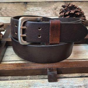 Other - Men's Brown Genuine Leather Belt Size 34